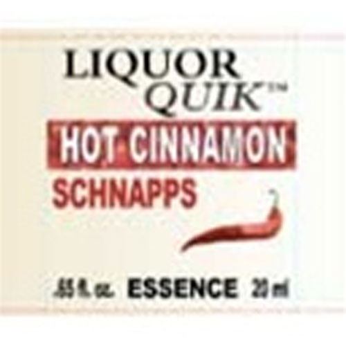 Hot Cinnamon Schnapps Essence - Liquor Quik (20ml)