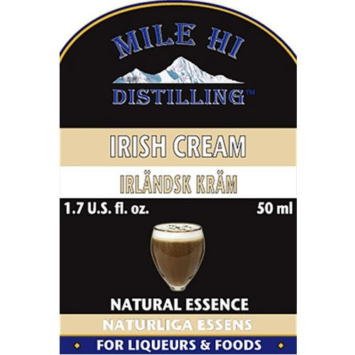 Mile Hi Irish Cream Liqueur Essence (50ml)