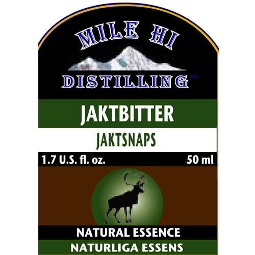 Mile Hi Jaktbitter Essence (50ML)