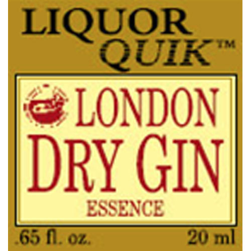 Liquor Quik London Dry Gin Essence BULK