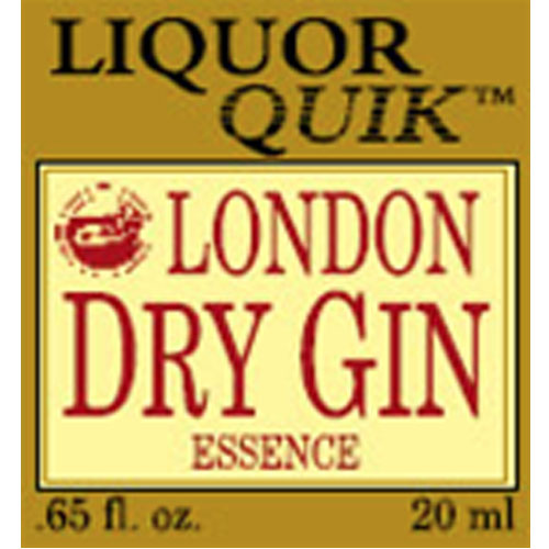 London Dry Gin Essence - Liquor Quik (20ml)