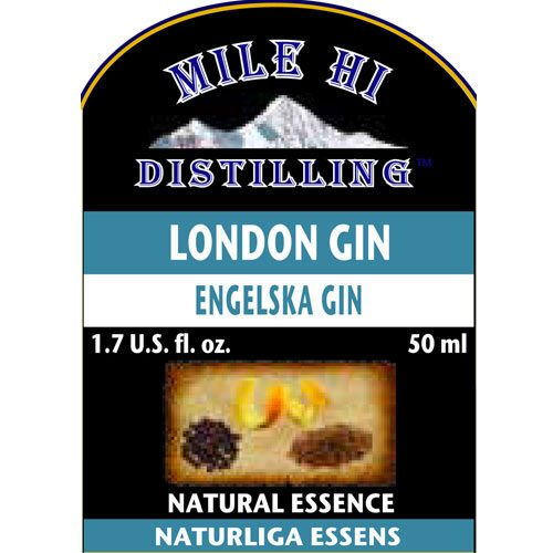 Mile Hi London Gin Essence (50ml)