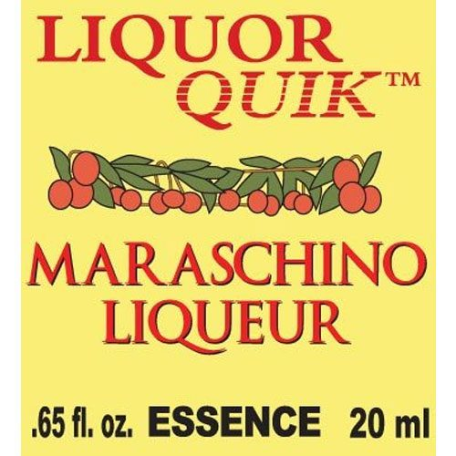 Maraschino Cherry Essence - Liquor Quik (20ml)