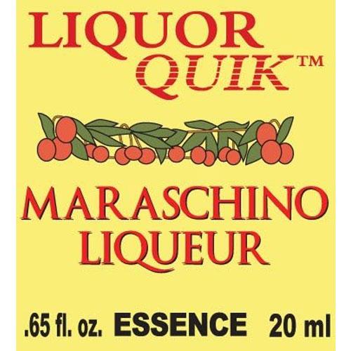 Maraschino Cherry Essence - Liquor Quik (20ml)