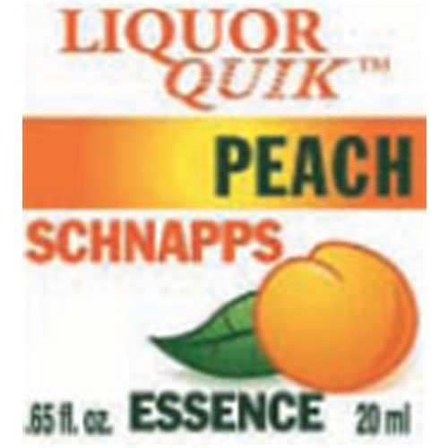 Peach Schnapps Essence - Liquor Quik (20ml)