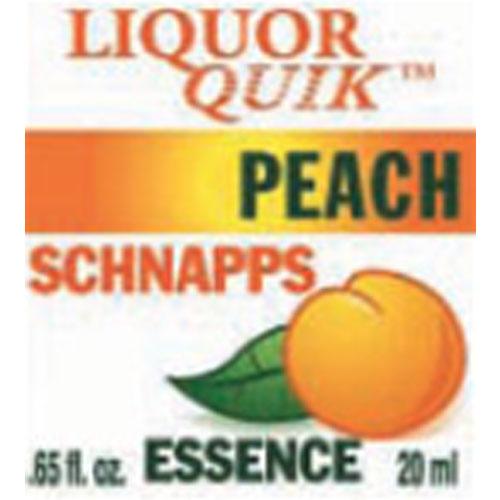 Liquor Quik Peach Schnapps Essence 500ml