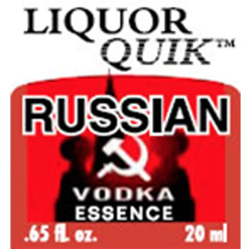 Liquor Quik Russian Vodka Essence 500ml