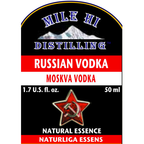 Mile Hi Russian Vodka Essence (50ML)