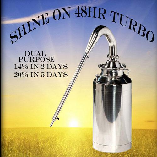 Shine On 48 Hour Turbo Yeast