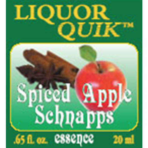 Spiced Apple Schnapps Essence - Liquor Quik (20ml)