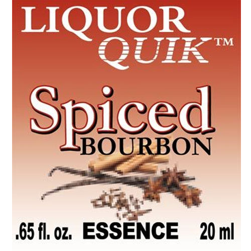 Liquor Quik Spiced Bourbon Essence 500ml