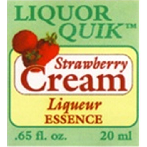 Strawberry Cream Essence - Liquor Quik (20ml)