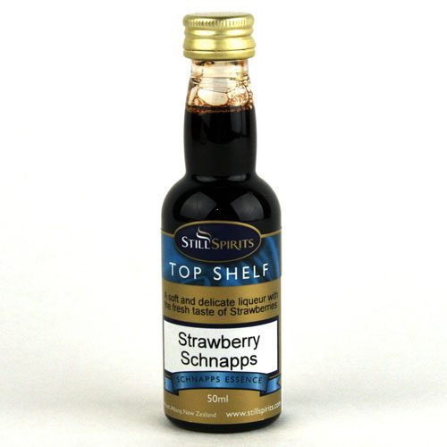 Strawberry Schnapps Essence -Top Shelf (50ml)