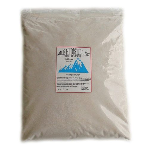 Mile Hi Distilling 48-Hour Turbo Yeast with AG (5lb)