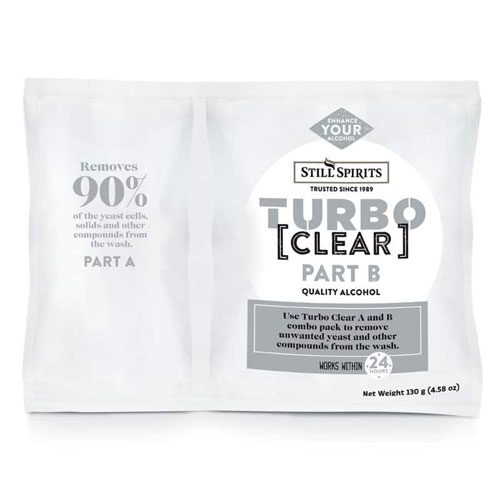 turbo clear 2-stage clearing agent for home distilling