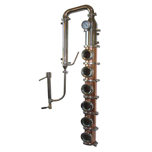 Copper 4 Inch Diameter Mile Hi Flute