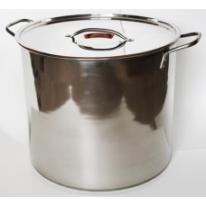 Stainless Stock Pot or Brew Pot (8 Gallon)