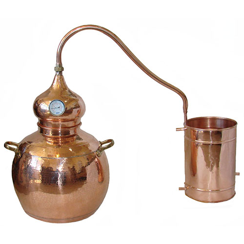 21 Gallon 80 Liter Alembic Copper Still