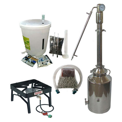8 Gallon with 2 Inch Econ Pot or Reflux Tower Complete Kit