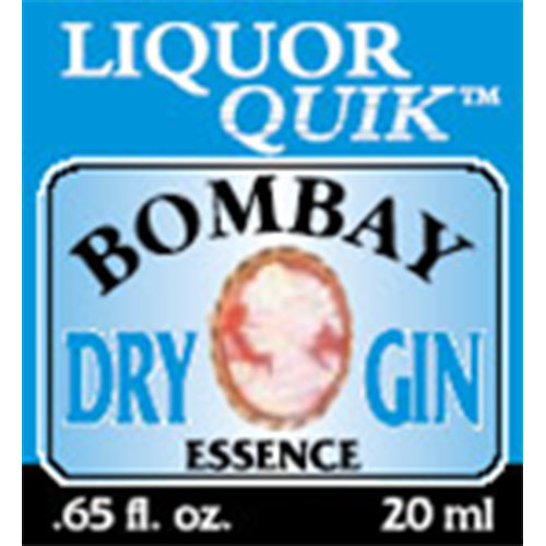 Liquor Quik Bombay Dry Gin Essence 500ml