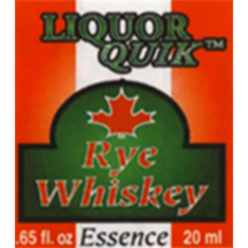 Liquor Quik Canadian Rye Whiskey Essence