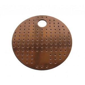 Perforated Copper Plates 6 Inch Diameter 4 PACK