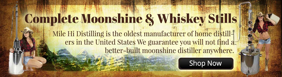 Complete Moonshine and Whiskey Stills