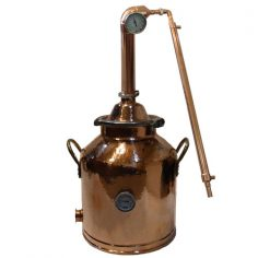 8 Gallon Copper Milk Can