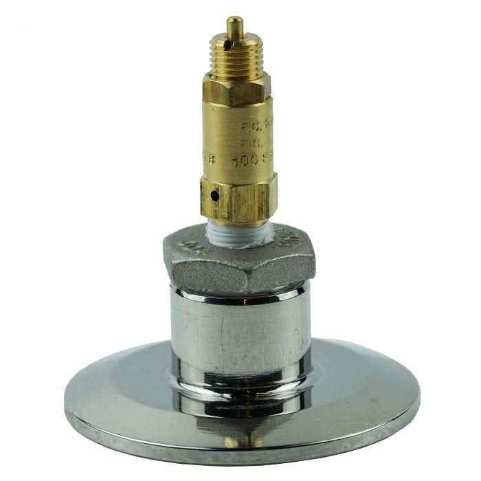 "5 PSI safety valve with 2"" x 1/2"" Adapter"