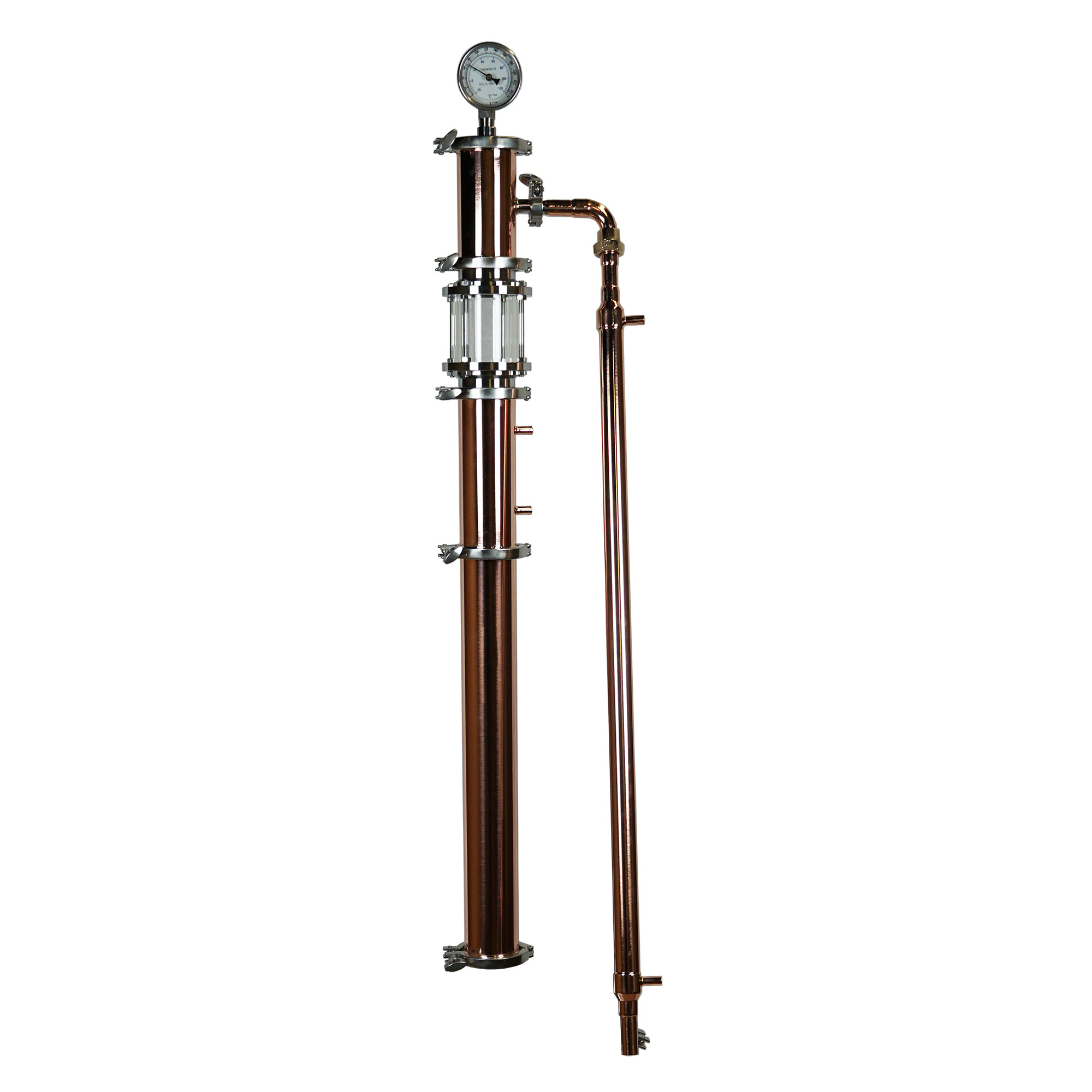 16 Gallon with Copper 3 Inch Diameter Torpedo Pro Tower Only