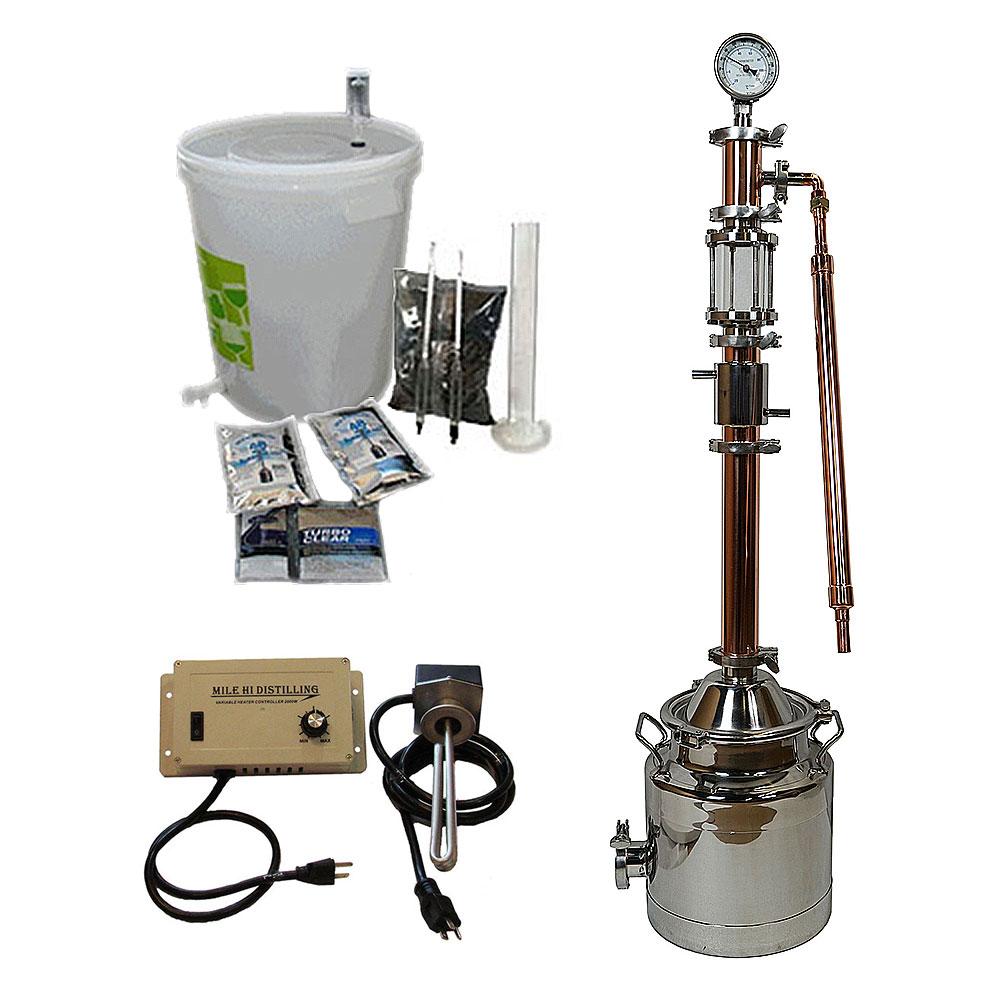 3 Gallon with Copper Mighty Mini Pro Distiller Kit