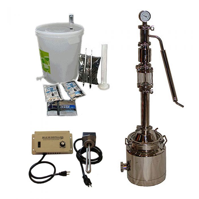 3 Gallon with Mighty Mini Pro Distiller Kit
