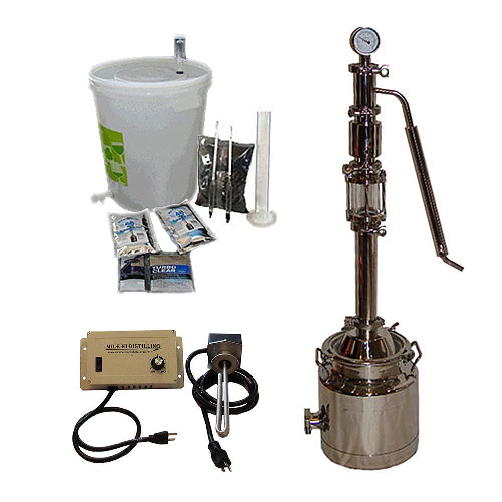 3 Gallon with Mighty Mini Pro Distiller Kit