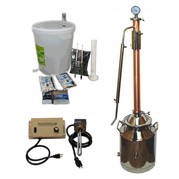 8 Gallon with Copper 2 Inch Diameter Dual Purpose Kit