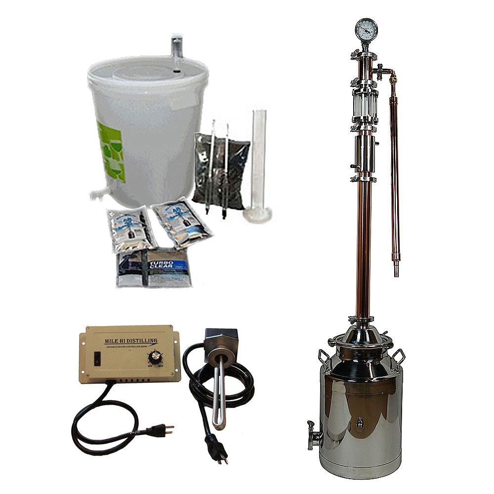 8 Gallon with Copper 2 Inch Diameter Dual Purpose Pro Kit