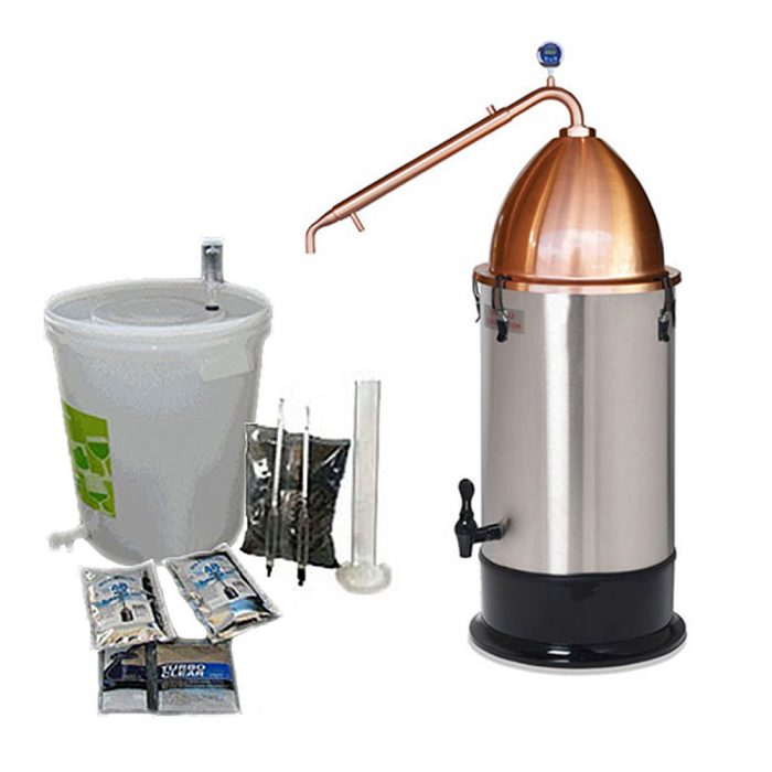 Alembic Pot Still with Turbo 500 Boiler Kit
