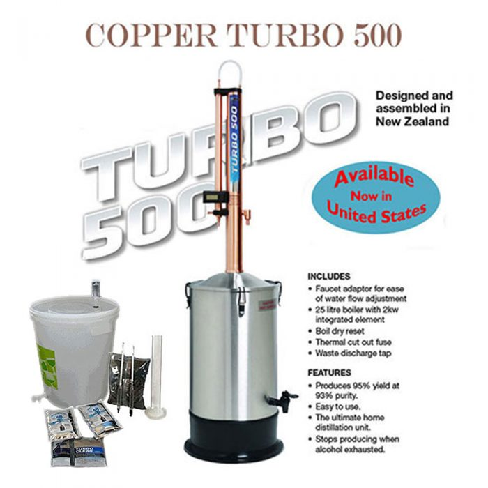 Copper Turbo 500 Distillation Kit