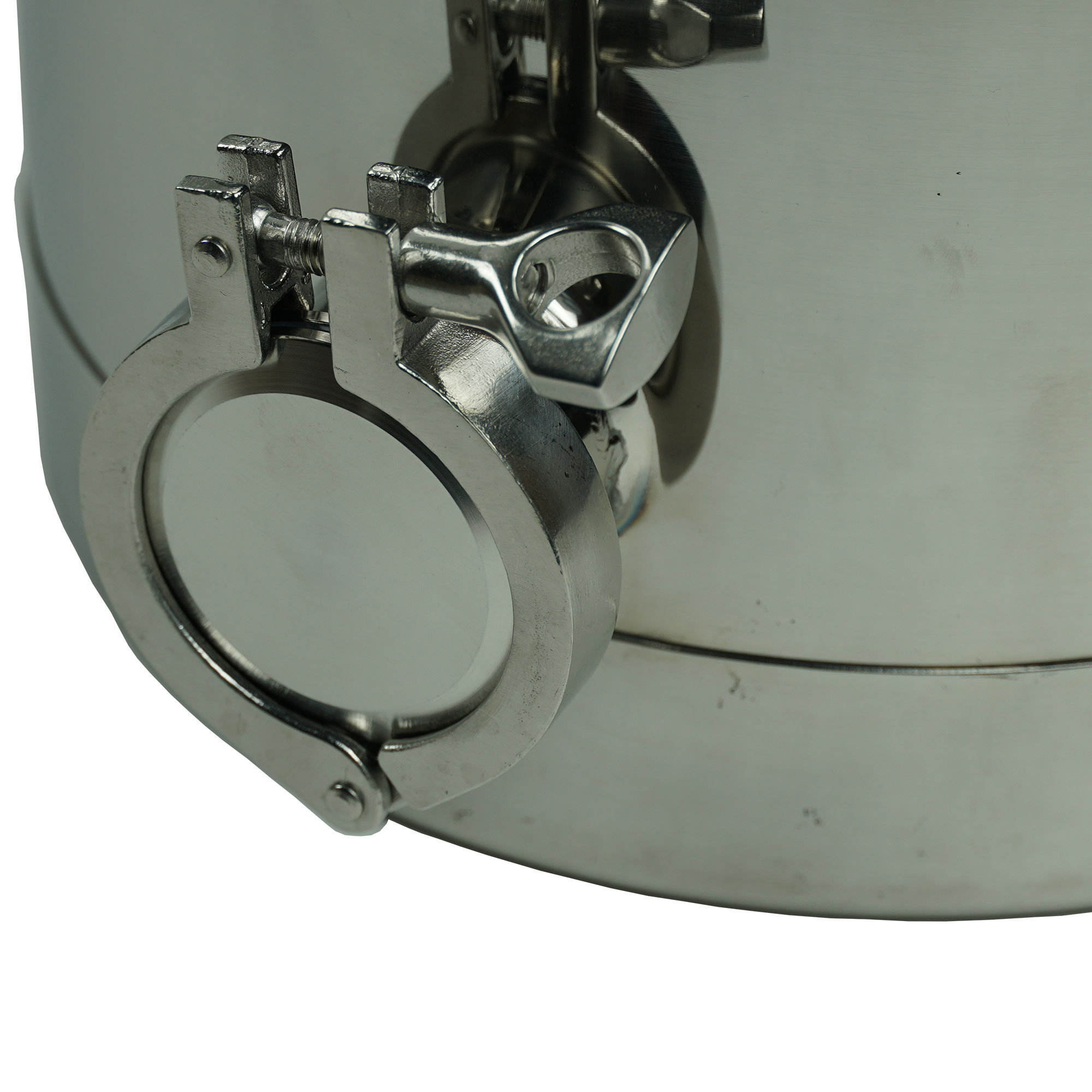8 Gallon Heavy Duty Milk Can with 2 Inch Dome Lid and ...