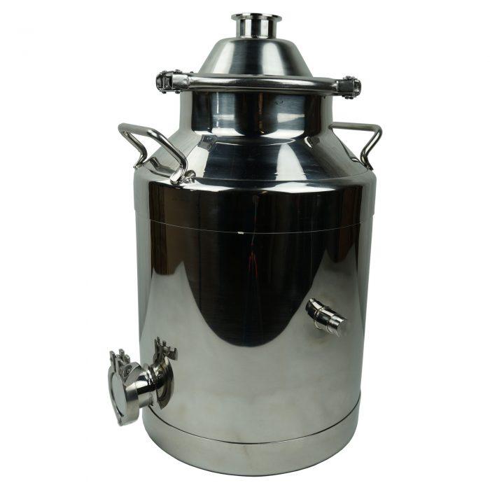 milk can boiler