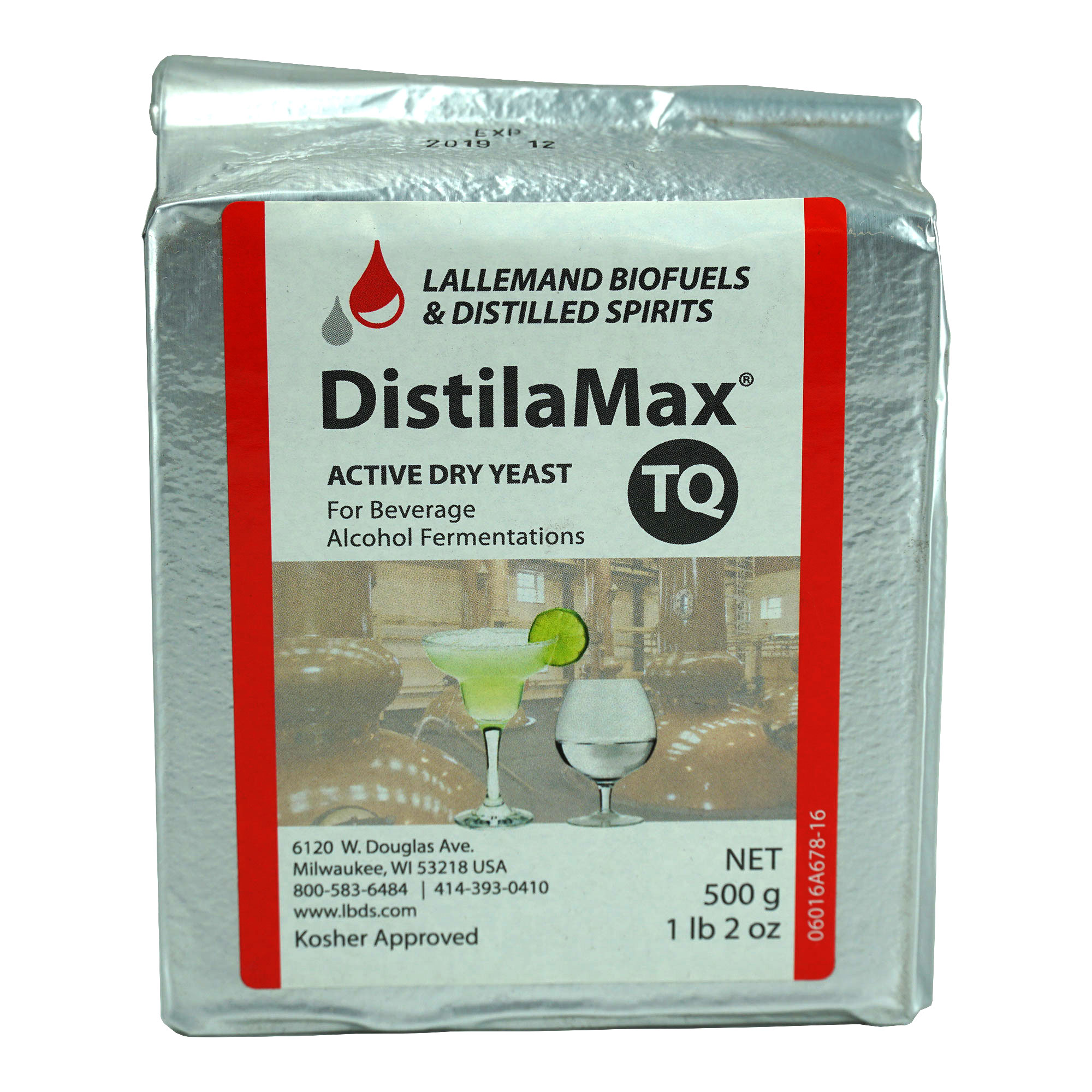 DistilaMax TQ Tequila yeast
