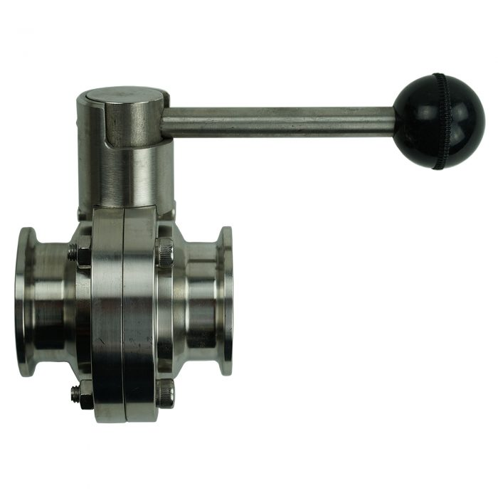 1.5 inch butterfly drain valve