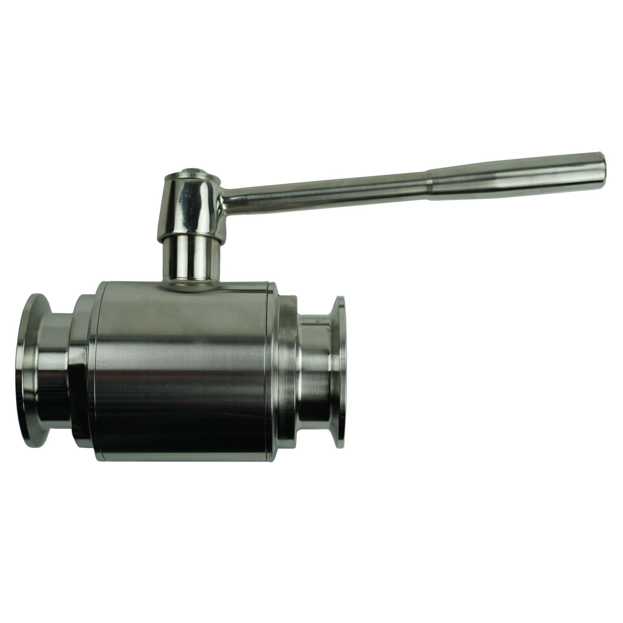 2 inch tri-clamp drain valve