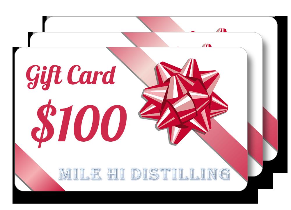 Mile Hi Distilling Moonshine Still Gift Card